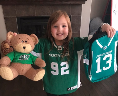 Young Riders fan has best reaction to receiving jersey