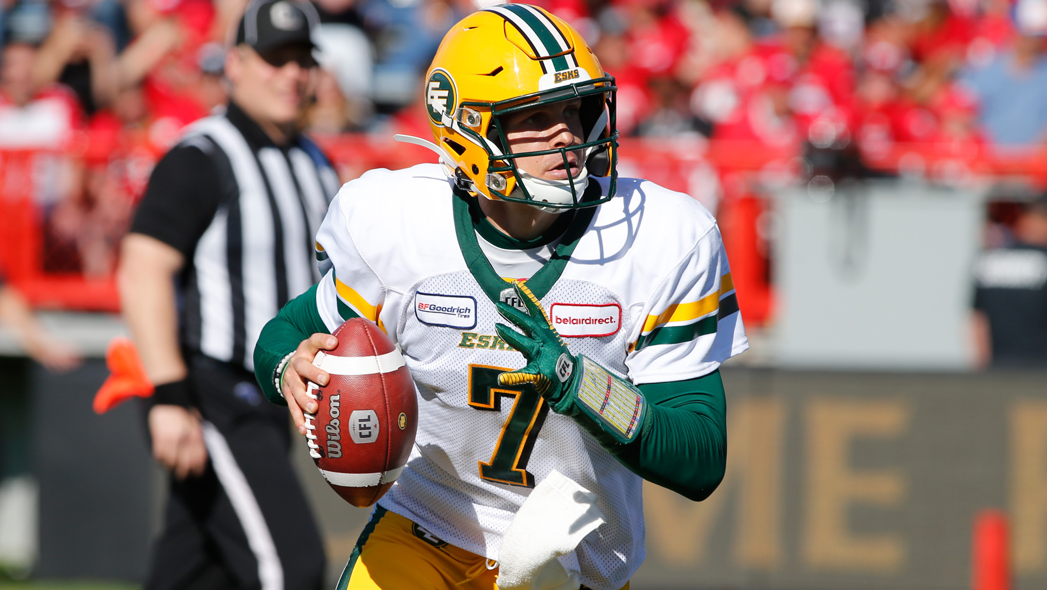 Harris, Esks focused on taking first half of back-to-back against Riders - CFL.ca