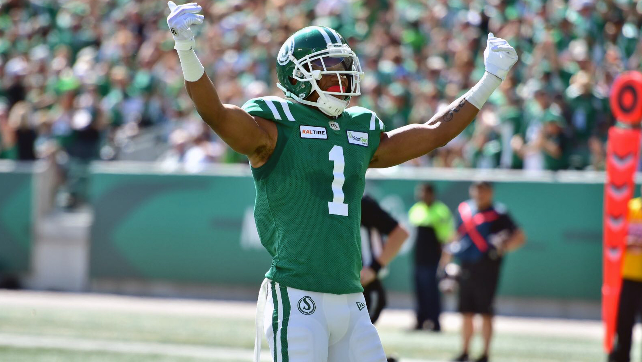 Evans: 'I feel like I'm one of the best players in this league' - CFL.ca