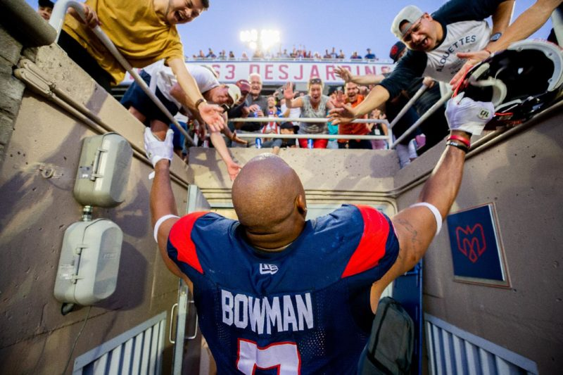 John Bowman, heartbeat of the Alouettes