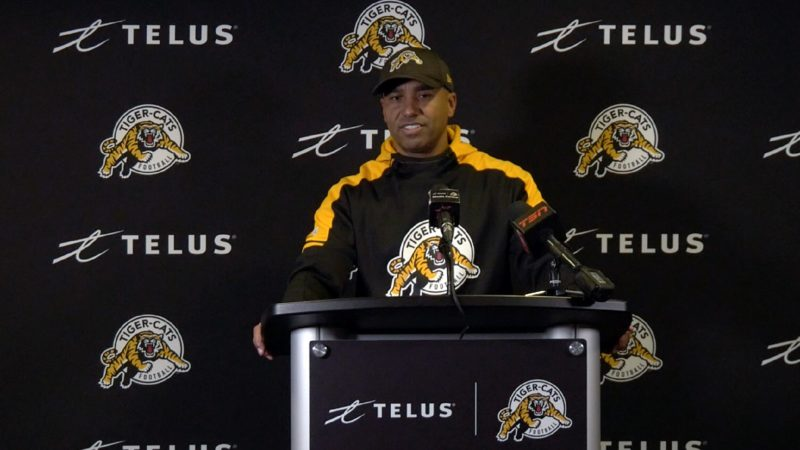 EF: Ticats readying for rematch with Trevor Harris
