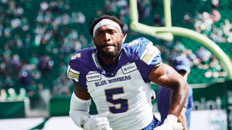 WF: Blue Bombers looking to silence fans in Mosaic Stadium