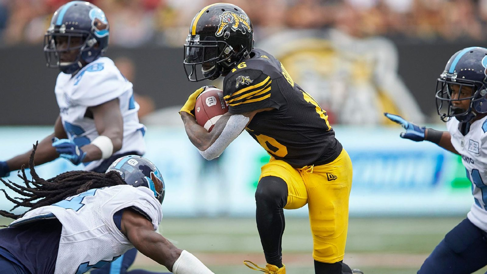 EF: Hamilton looking to add new wrinkles during closed practice - CFL.ca