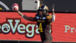EF: Ticats' D Forces Back-To-Back Turnovers Leading to 10 Points