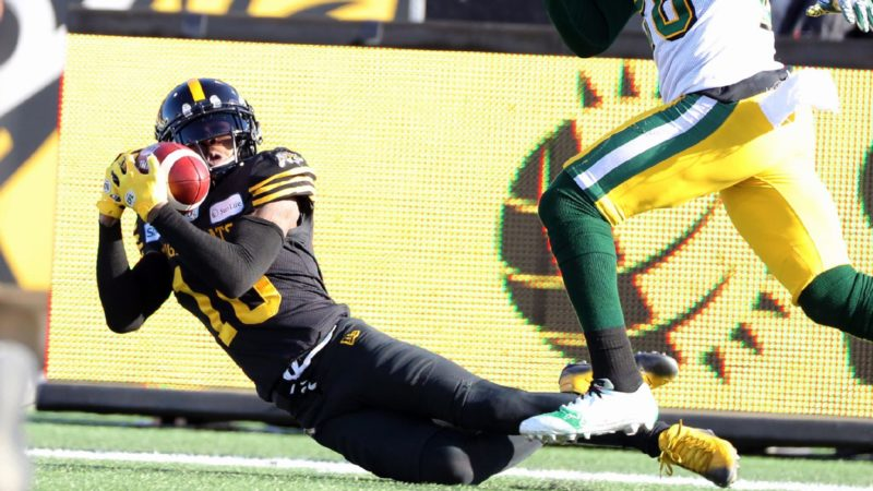 EF: Banks Makes UNBELIEVABLE TD Grab To Extend Ticats' Lead
