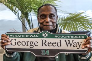 Riders, City of Regina honour legend George Reed