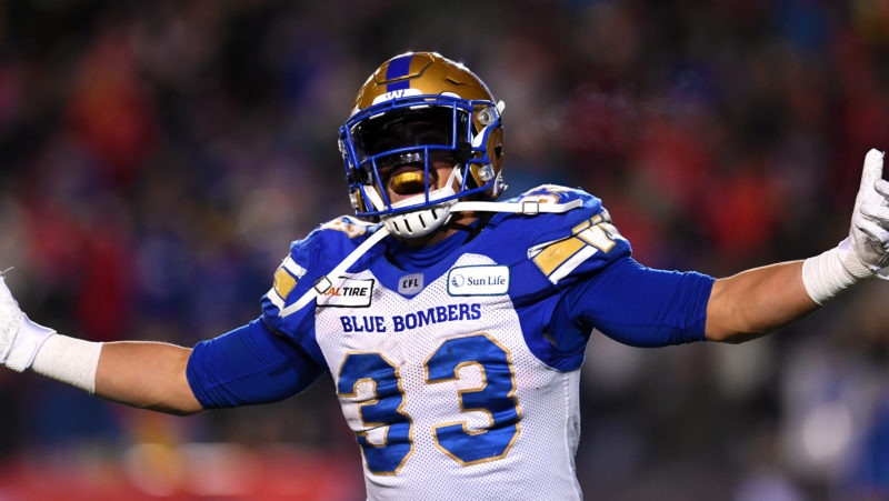 Staying in the 'Peg: Harris, Bombers agree to extension