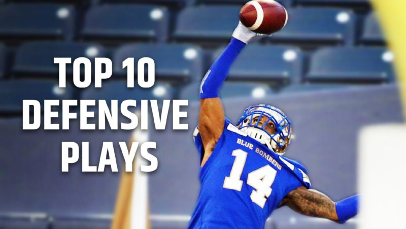 Top 10 Defensive Plays of 2019