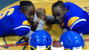 Beckford twins inspired by Argonaut to play football