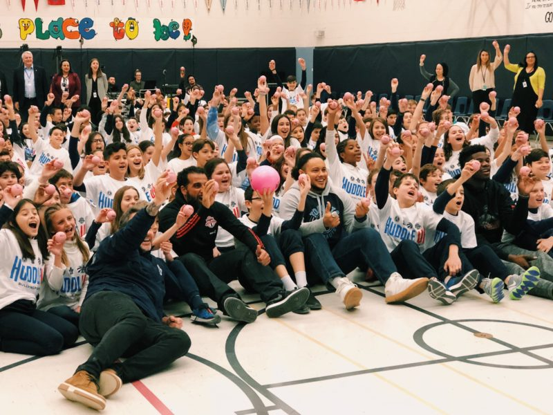 Huddle Up: Argos team up to Tackle Bullying