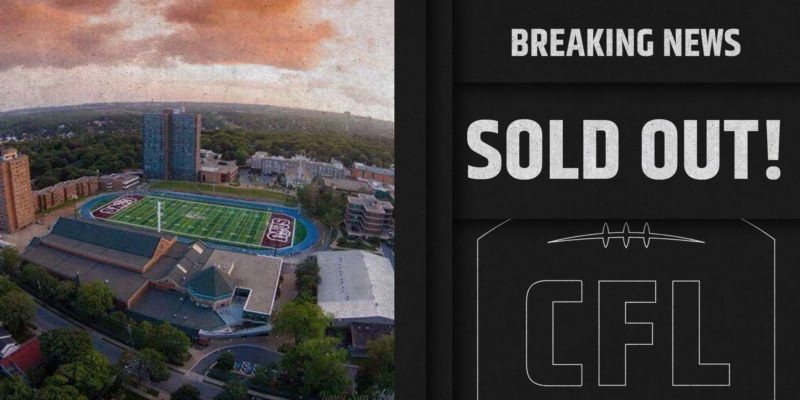 2020 Touchdown Atlantic sold out