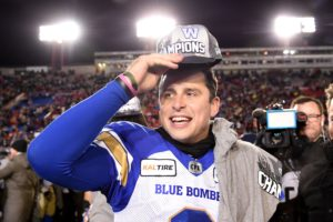 O'Leary: Collaros' decade perhaps the most unique in the CFL