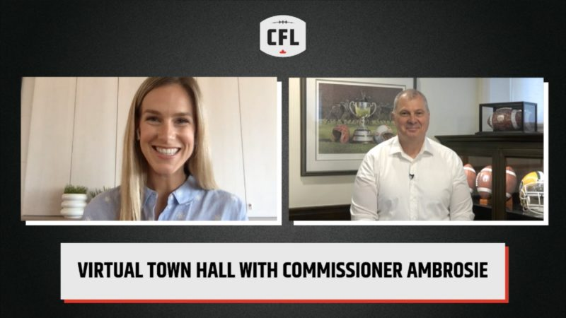 Ambrosie expands on CFL statement during virtual Town Hall