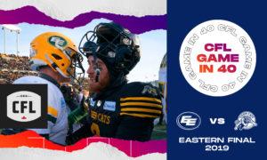 CFL Game in 40: EDM at HAM EF in 2019