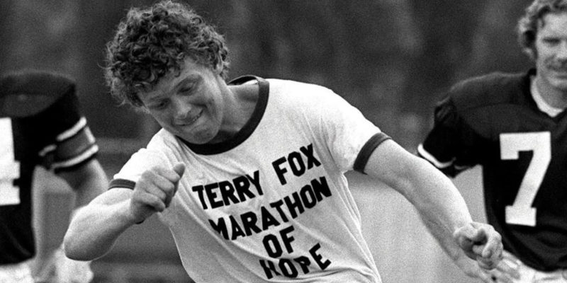 On This Day: Terry Fox does opening kick-off at an Ottawa Roughriders game