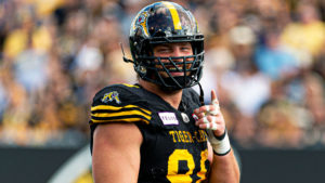 Ryan McCollough/Hamilton Tiger-Cats