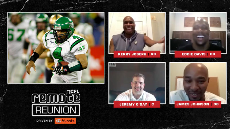 Remote Reunion: 2007 Saskatchewan Roughriders