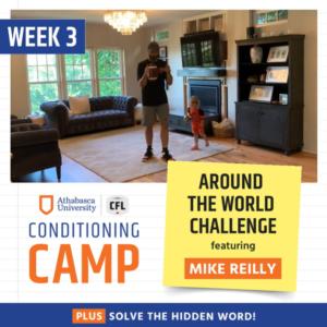 Week 3 Conditioning Drill: Around the World
