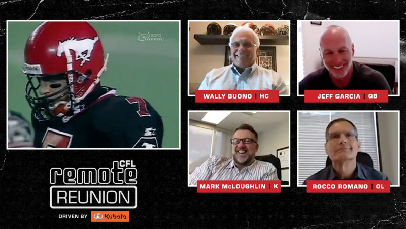 Remote Reunion: 1998 Calgary Stampeders