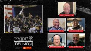 Remote Reunion: 1999 Hamilton Tiger-Cats