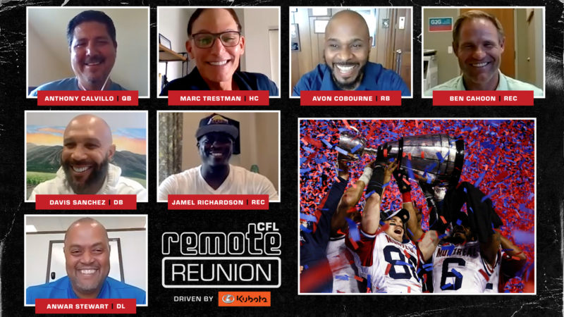 Remote Reunion: 2009 Montreal Alouettes