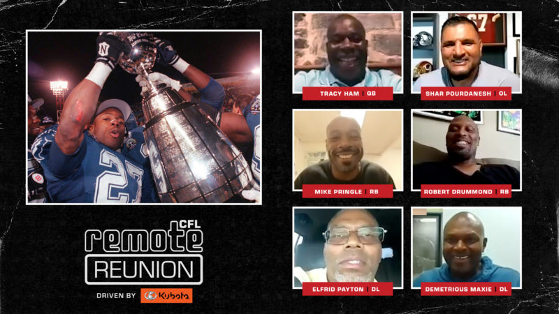 Remote Reunion: 1995 Baltimore Stallions