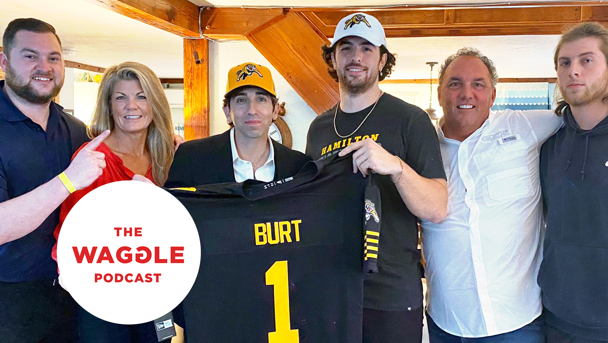 The Waggle, Ep. 261: Getting to know No. 1 pick Jake Burt