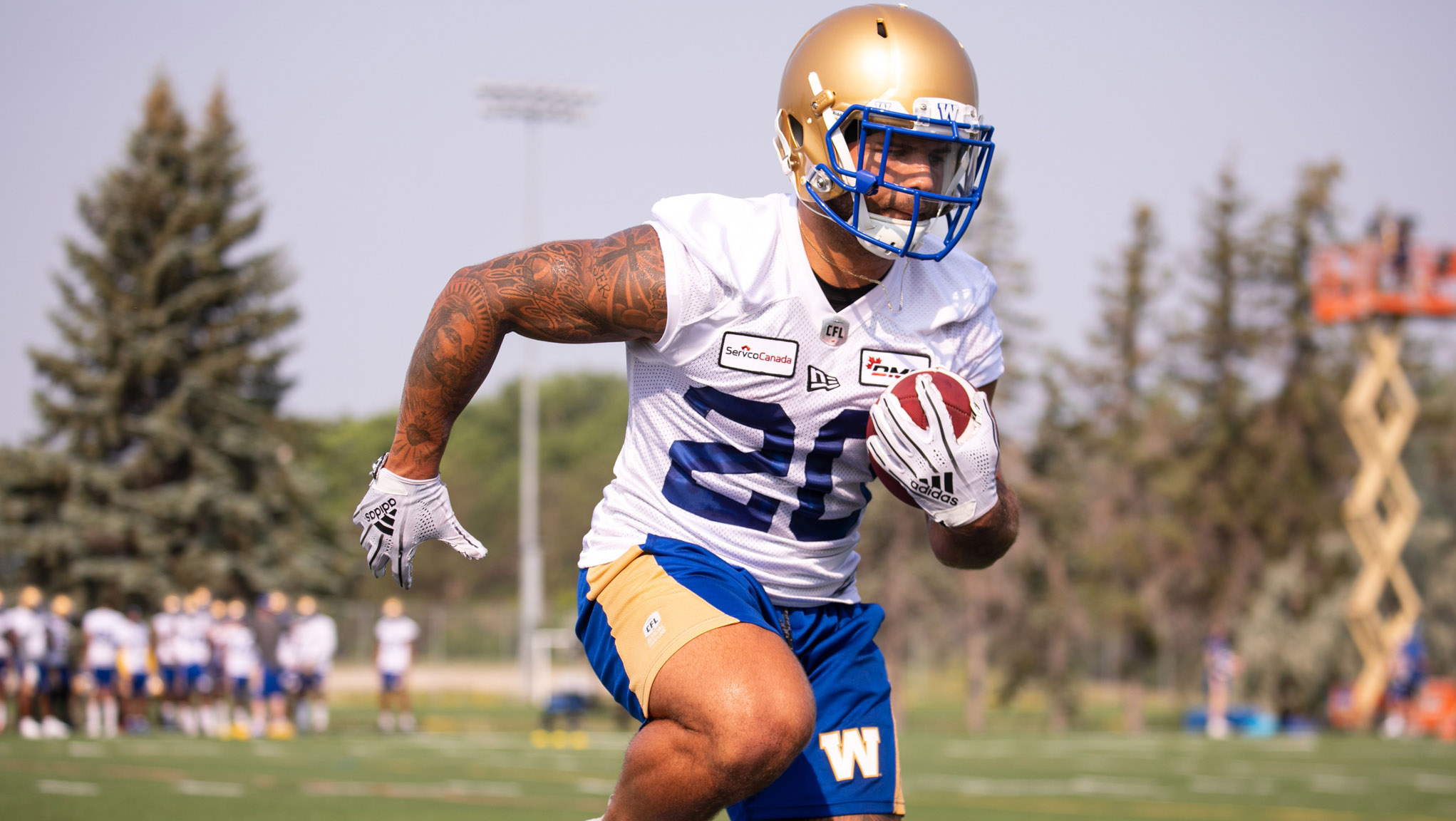 Tait: All eyes on Bombers' backfield as camp wraps
