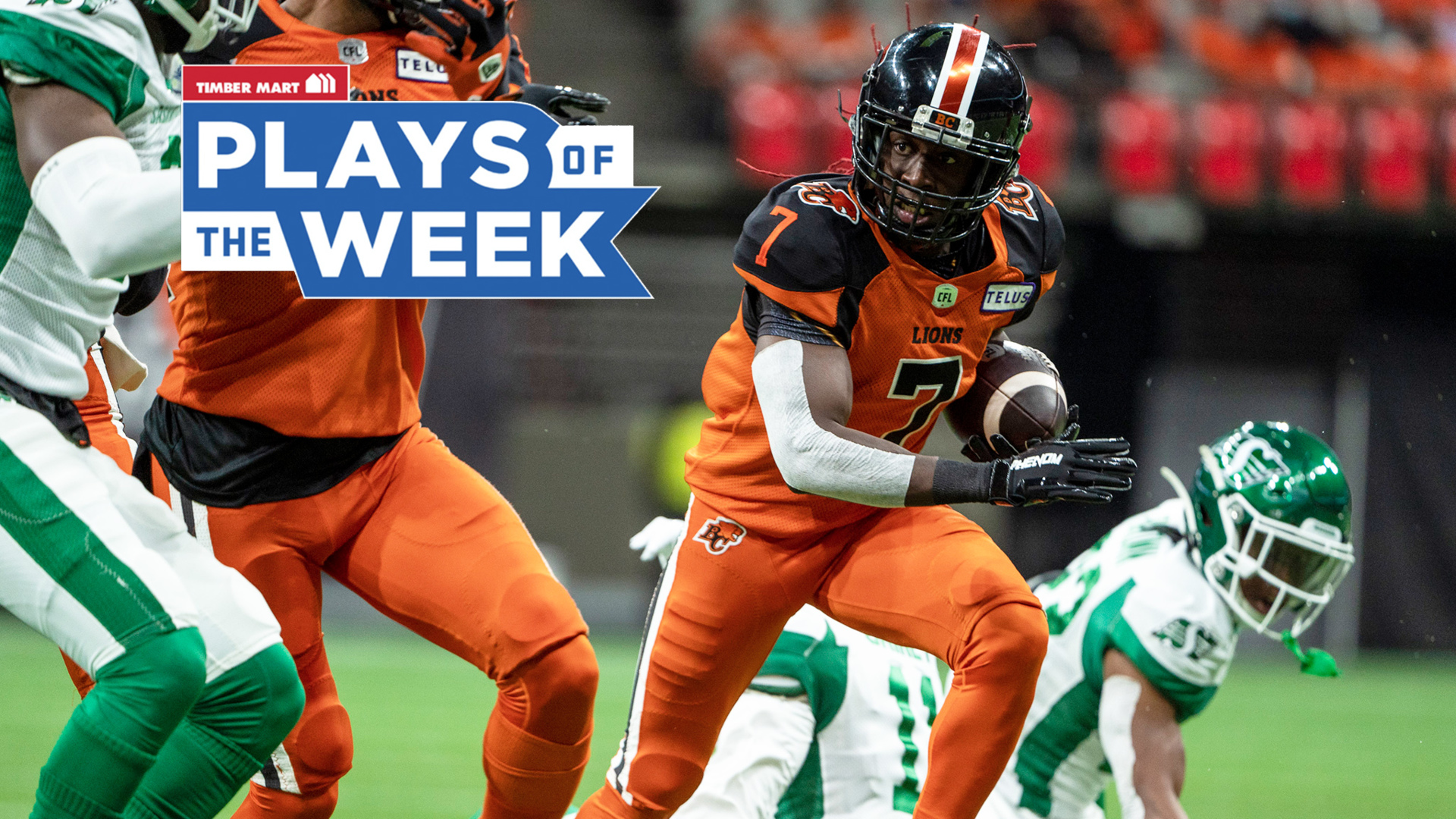 Serious speed on display in Timber Mart Plays of the Week