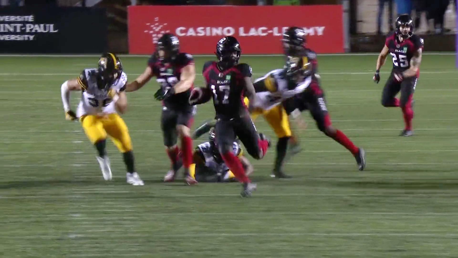 Dedmon's return gives Ottawa late spark
