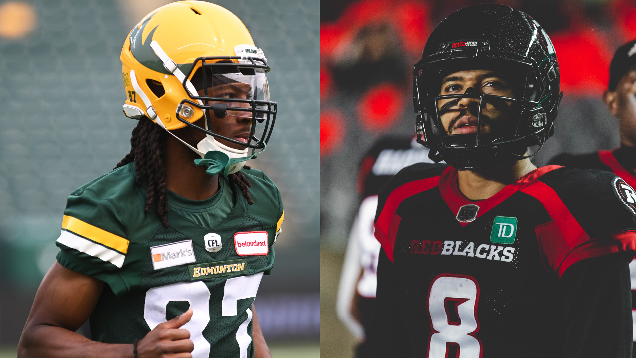 Elks, REDBLACKS meet on Tuesday in the nation's capital