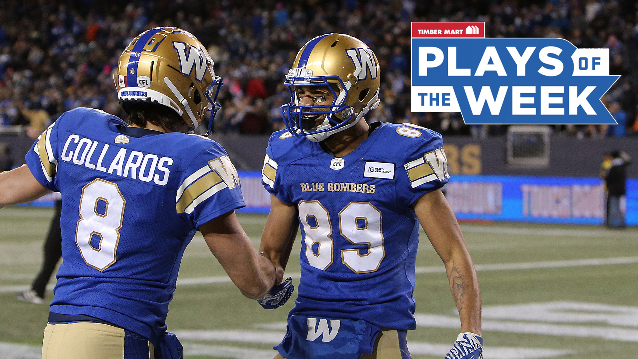 Bombers dominate Timber Mart Plays of the Week