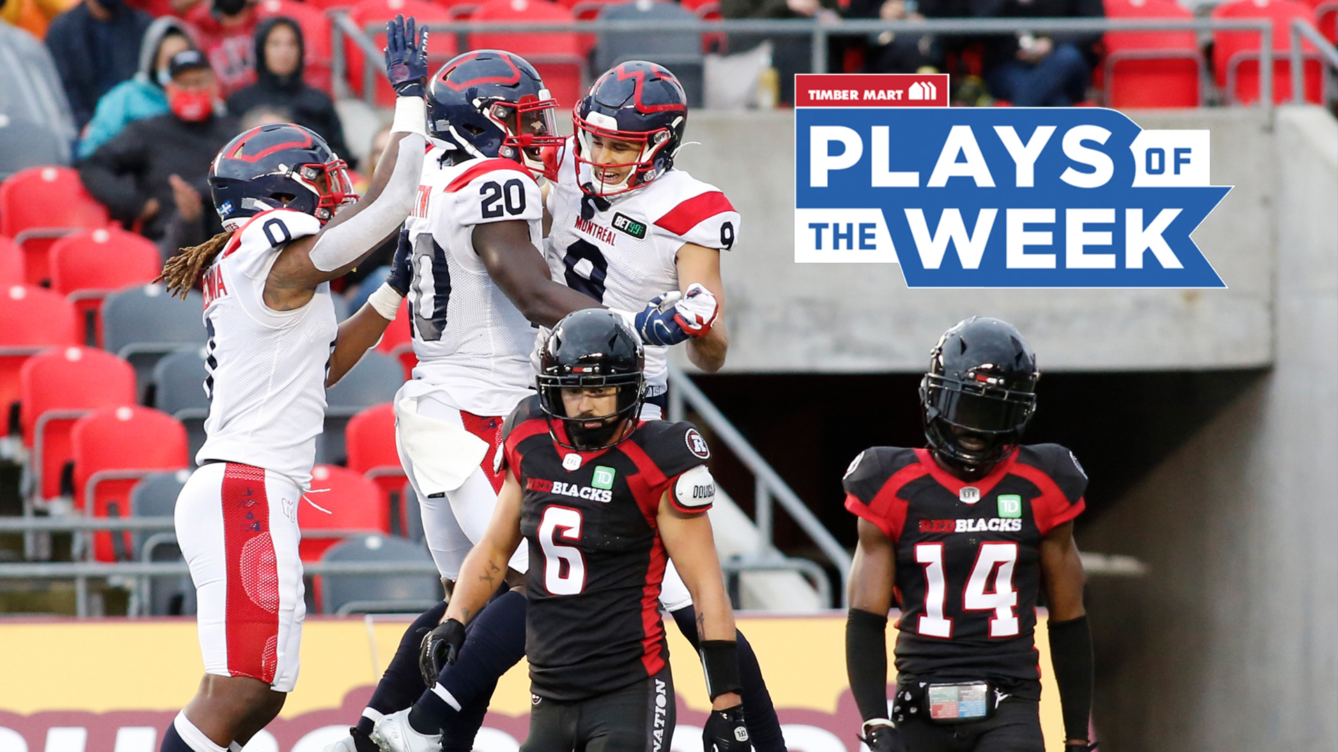 'TD Jake' leaps into Timber Mart Plays of the Week