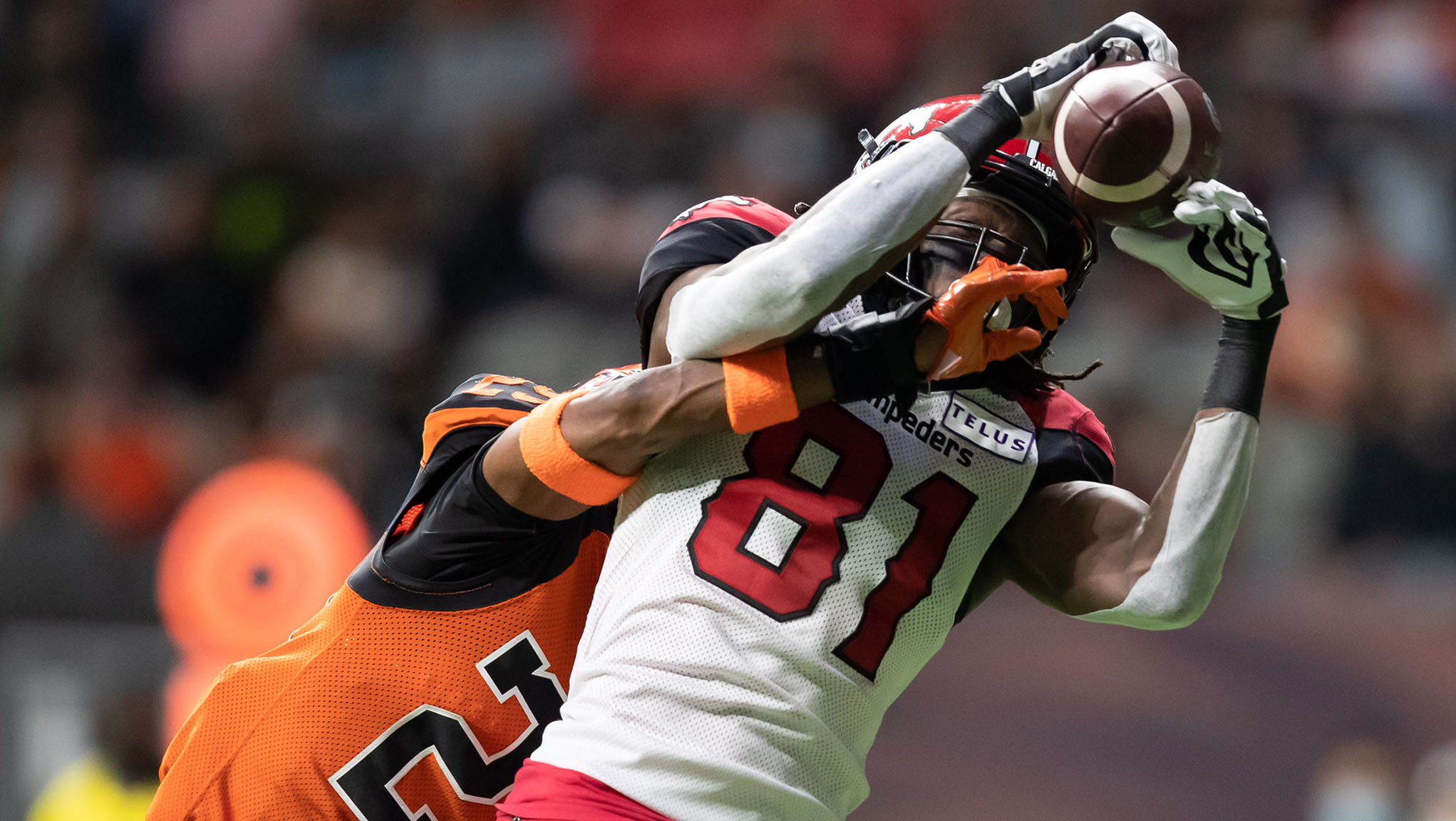 Stampeders cruise past BC Lions for third straight win