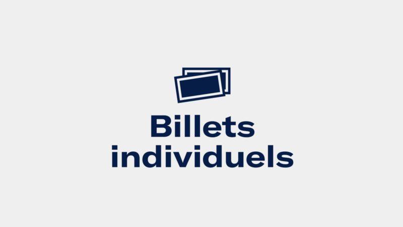 Billets Individuels