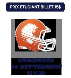 Match des Alouettes de Montréal du 14 septembre 2018