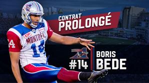 Prolongation de contrat pour Bede Boris-fr