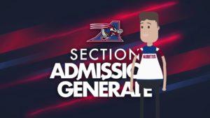 Section Admission Générale