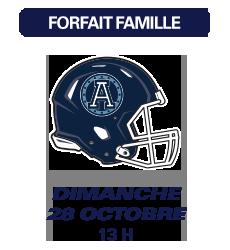 Match des Alouettes de Montréal du 28 octobre 2018