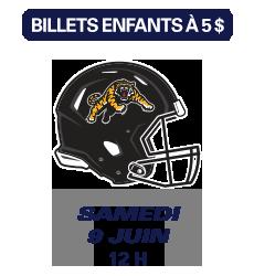 Match des Alouettes de Montréal du 9 juin 2018