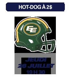 Match des Alouettes de Montréal du 26 juillet 2018
