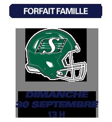 Match des Alouettes de Montréal du 30 septembre 2018