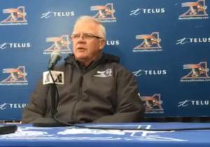 Conférence de presse avec Coach Sherman