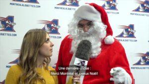 Les Alouettes font l'acquisition du Père Noël