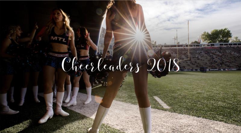 La galerie des Cheerleaders 2018