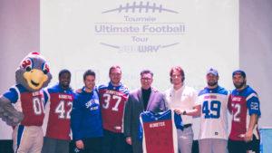 Retour en images sur le lancement de la tournée Ultimate Football