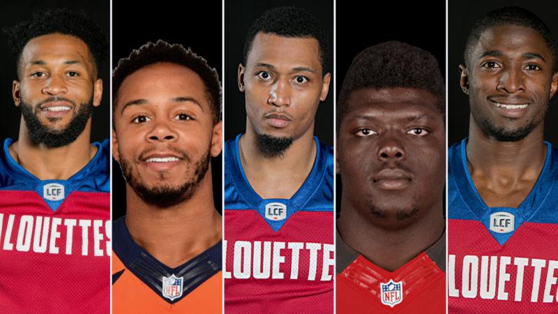 Lesquels de nos joueurs ont été repêchés dans la NFL?