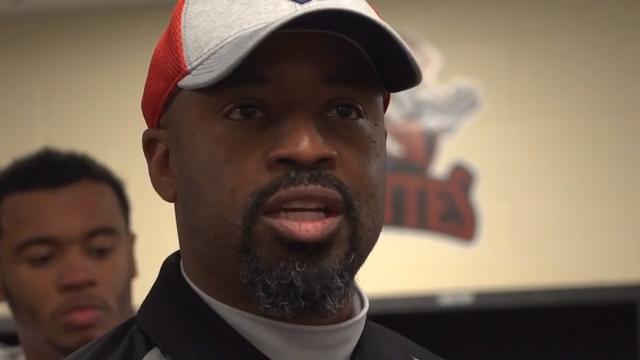 Postgame speech of coach Khari Jones