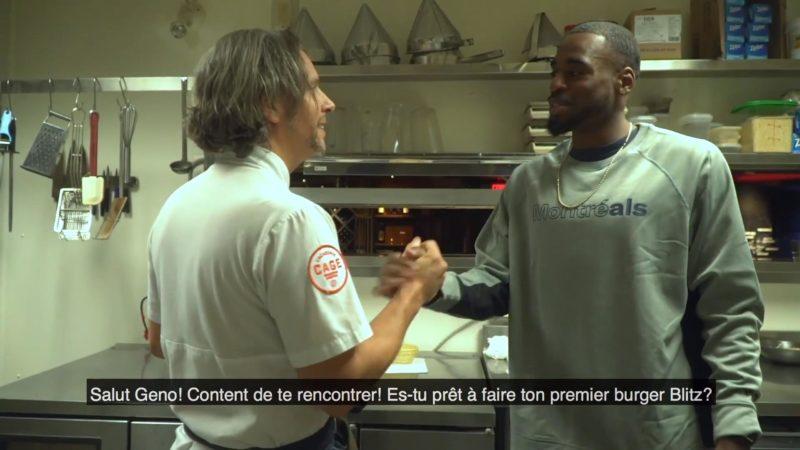 Geno Lewis, future La Cage chef