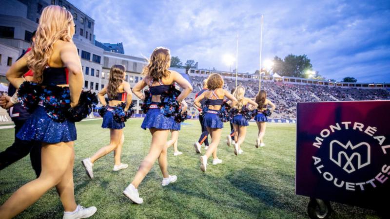 Les cheerleaders 2019 en action